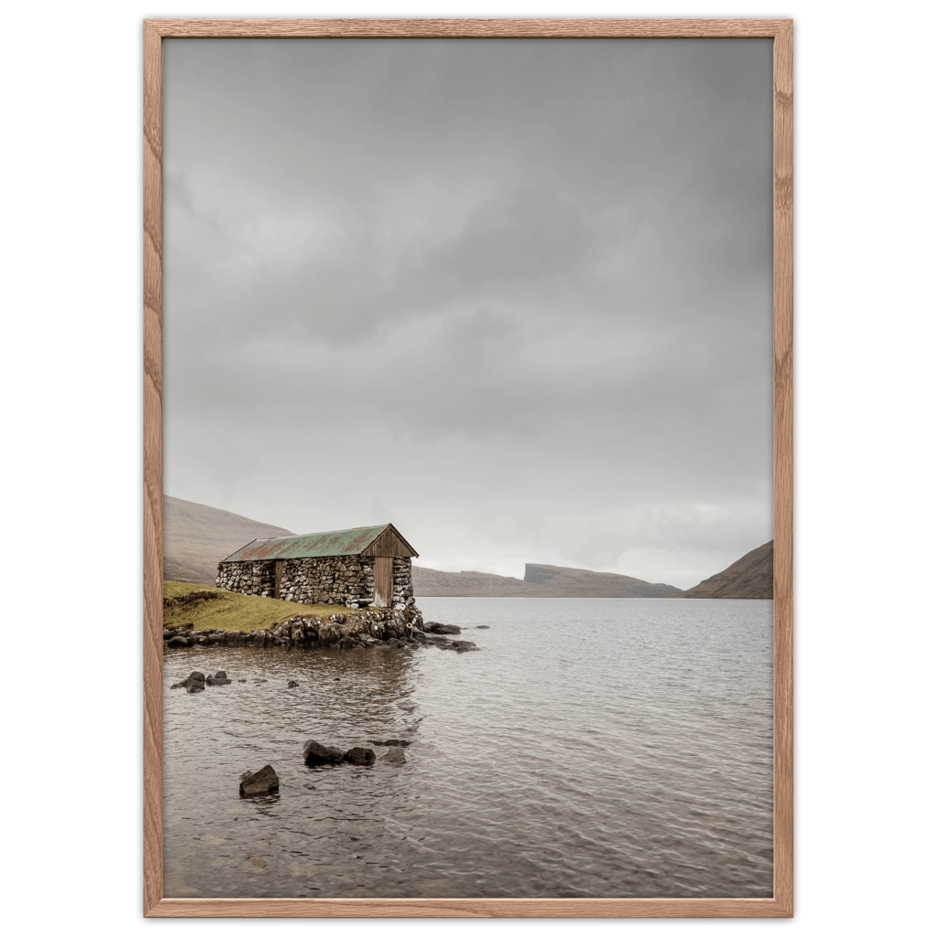 Hytte plakater Færøerne