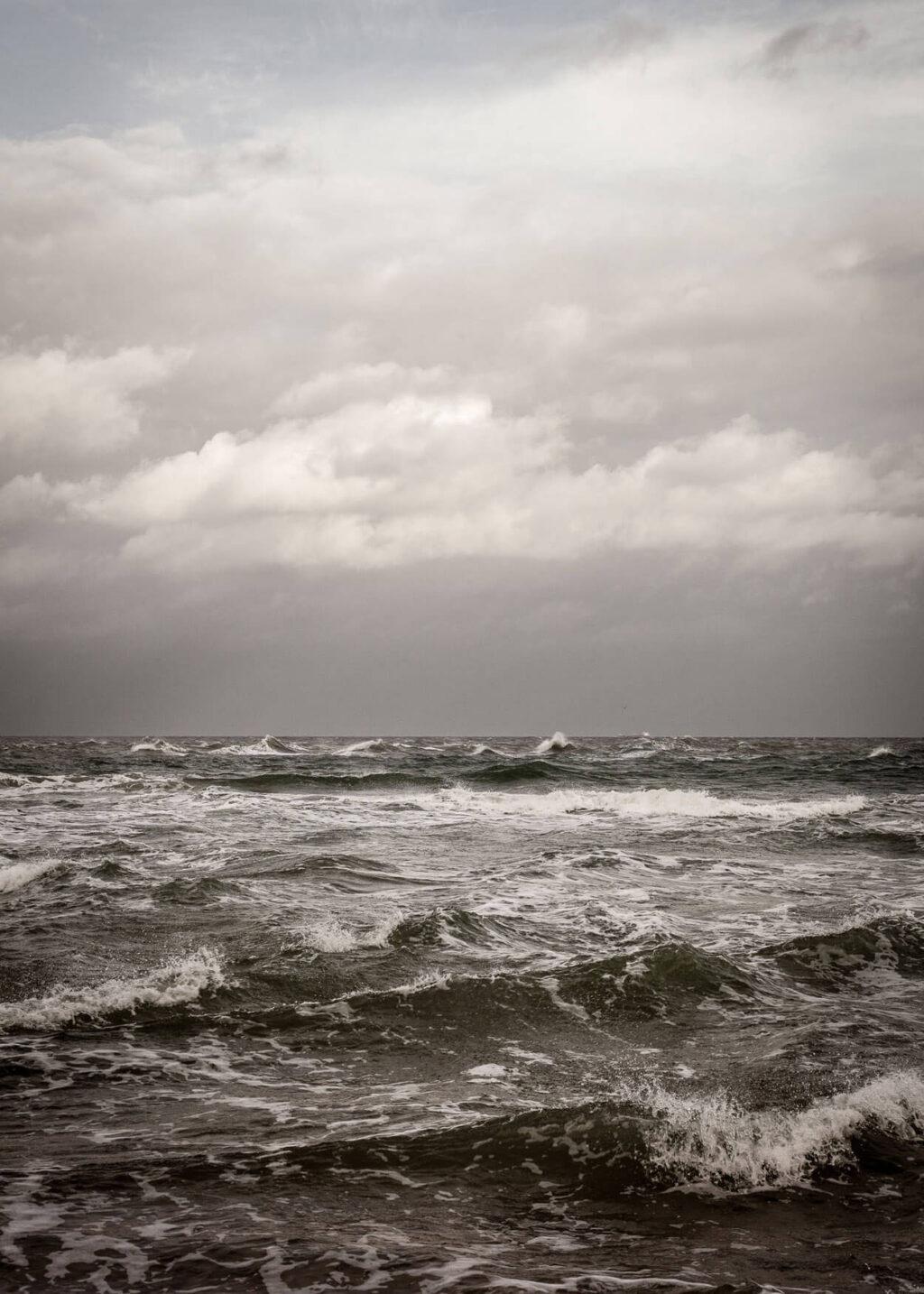 Havet ved Skagen plakat