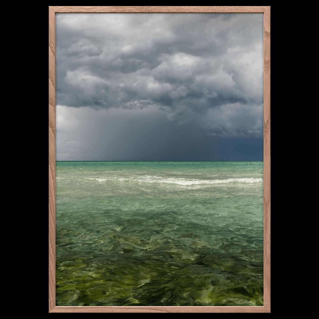 Saltvand plakat