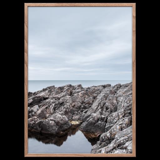 Klipperne Bornholm plakat