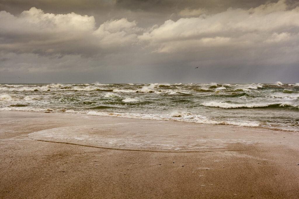 Fotokunst af stranden ved Grenen