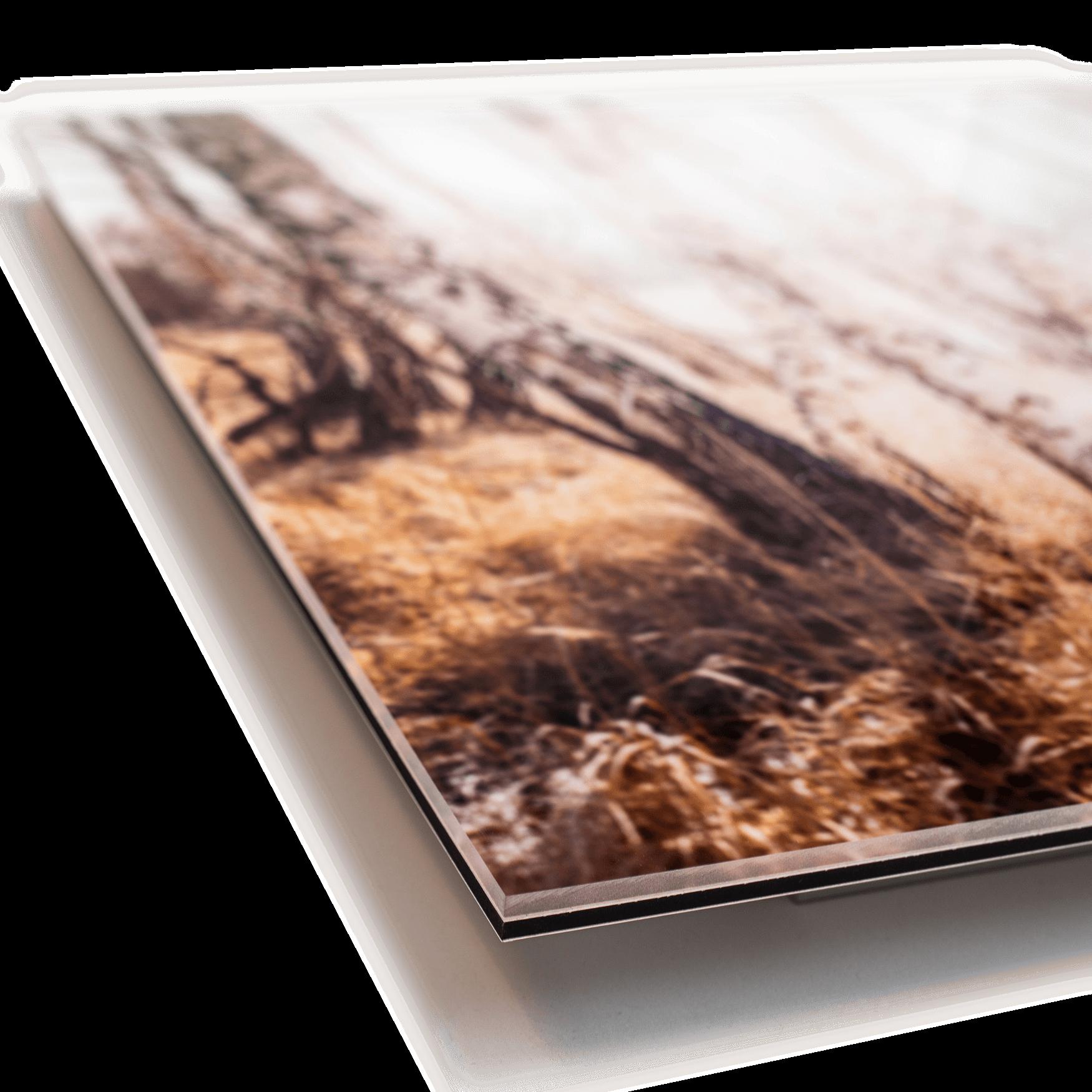 AluDiBond - Foto under akrylglas