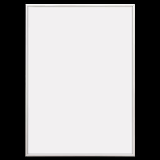 Hvide aluminiumsrammer