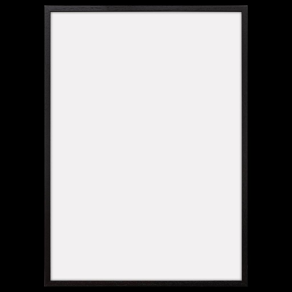 Plakatrammer i sort eg